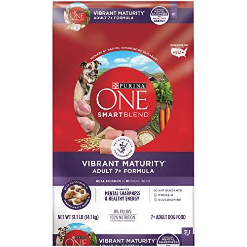 Purina ONE Senior Dog Food, SmartBlend Vibrant Maturity Adult 7+ Formula - 31.1 lb. Bag