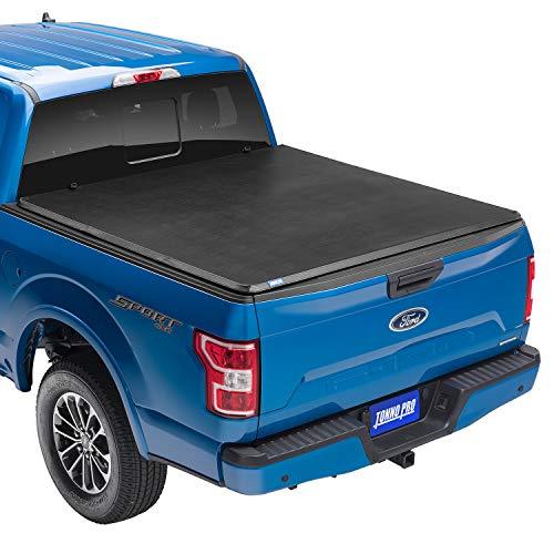 Tonno Pro Hard Fold, Hard Folding Truck Bed Tonneau Cover   HF-250   Fits 2009-18, 19/20 Classic Dodge Ram 1500/2500/3500 6'4' Bed (78')