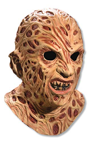 Rubie's mens Nightmare on Elm Street Super Deluxe Overhead Freddy Krueger Costume Mask, Red, One Size US