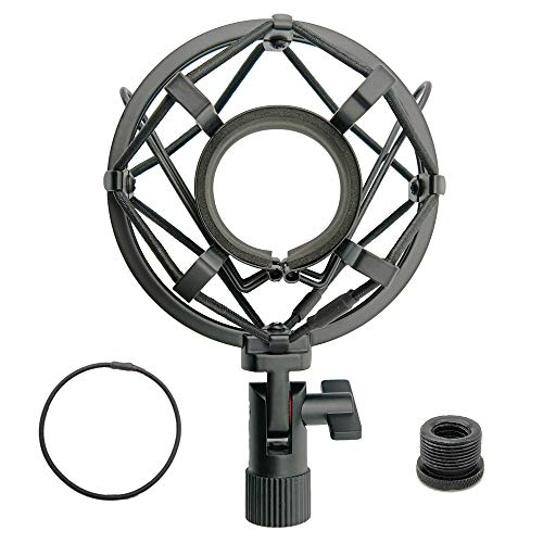 Suuntok Shock Mount - Microphone Shockmount for AT2020/AT2020USB+/ AT2020USBi/AT2035/AT2050 Condenser Microphone