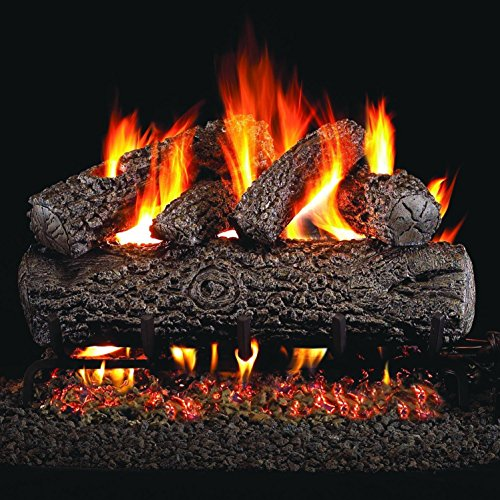 Peterson Real Fyre 24' Post Oak Gas Logs Only No Burner